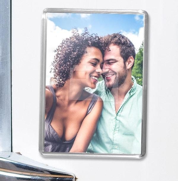 Full Photo Upload Magnet  - Portrait