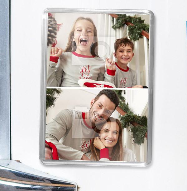 Christmas Photo Fridge Magnet