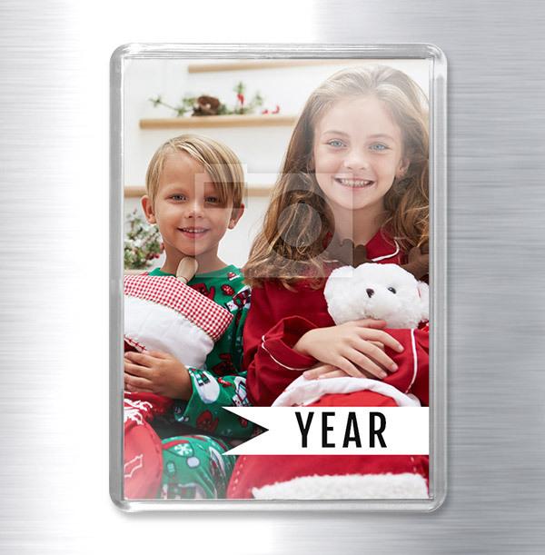 Full Photo Christmas Fridge Magnet