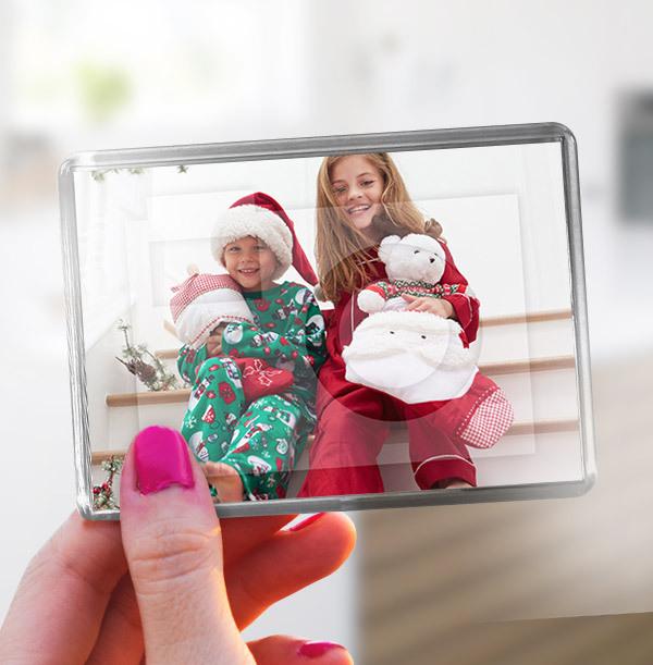 Christmas Full Photo Landscape Magnet