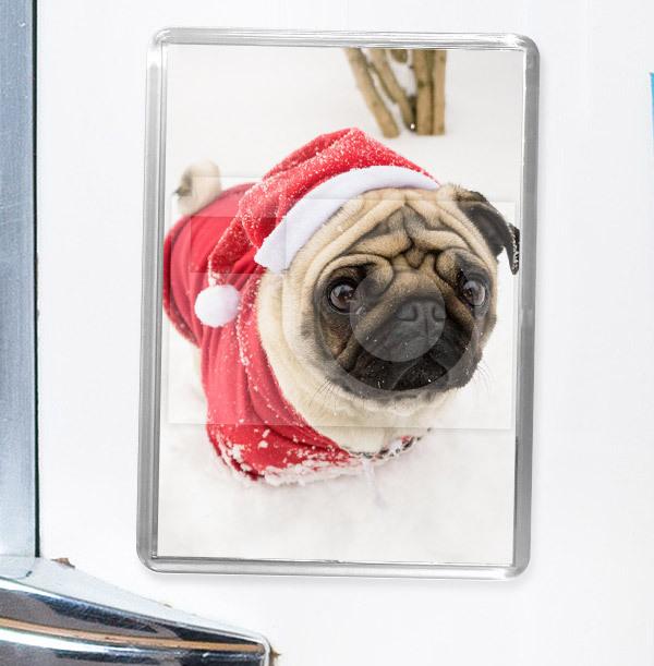 Christmas Full Photo Portrait Magnet