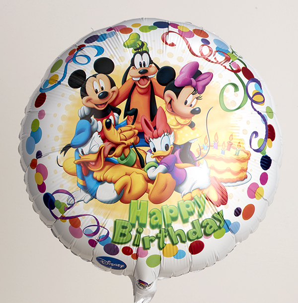 Mickey Mouse and Friends Birthday Balloon