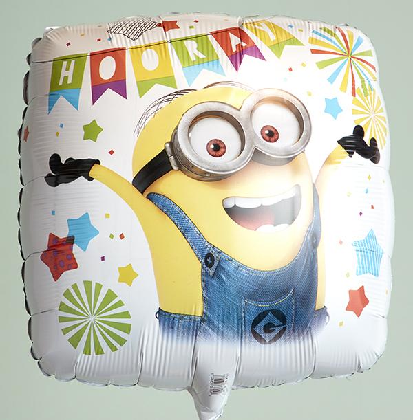 Minions Hooray Balloon