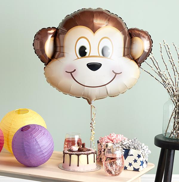 Monkey Head Balloon