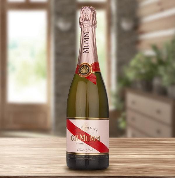 G.H.Mumm Brut Rosé Champagne