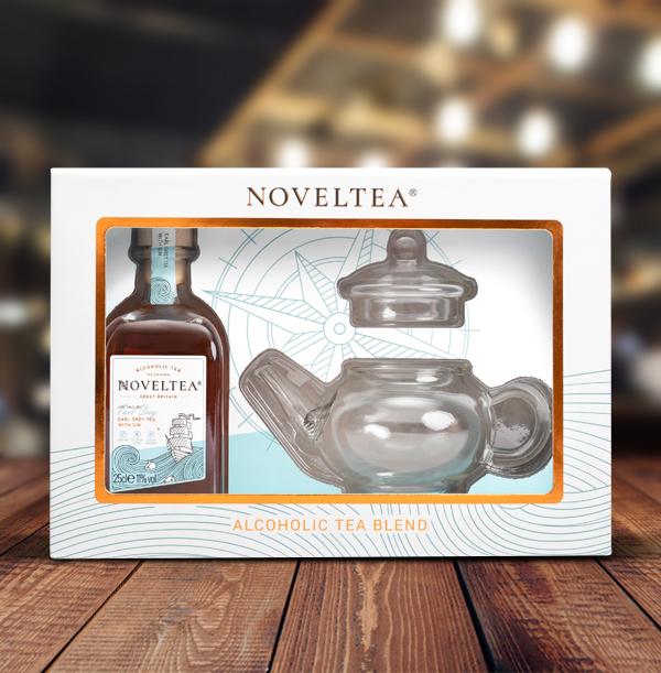 Noveltea The Tale of Earl Grey Teapot Gift Pack