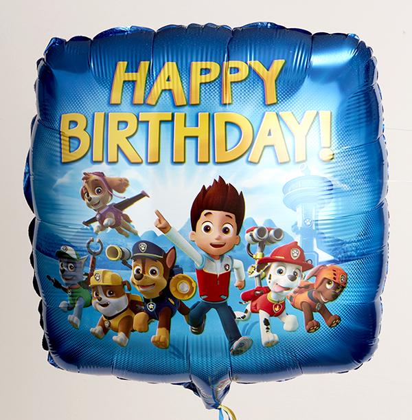 Happy Birthday Paw Patrol Balloon