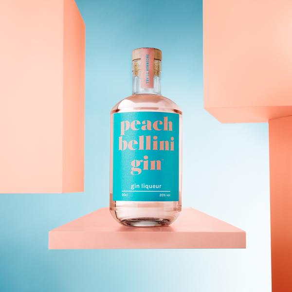 Peach Bellini Gin Liqueur