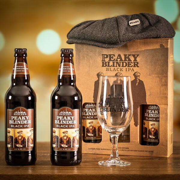 Peaky Blinders IPA, Cap and Glass Gift Set