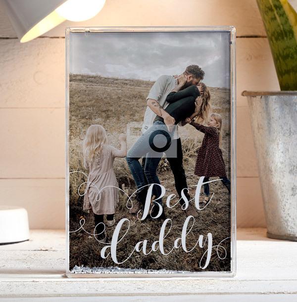 Best Daddy Photo Block