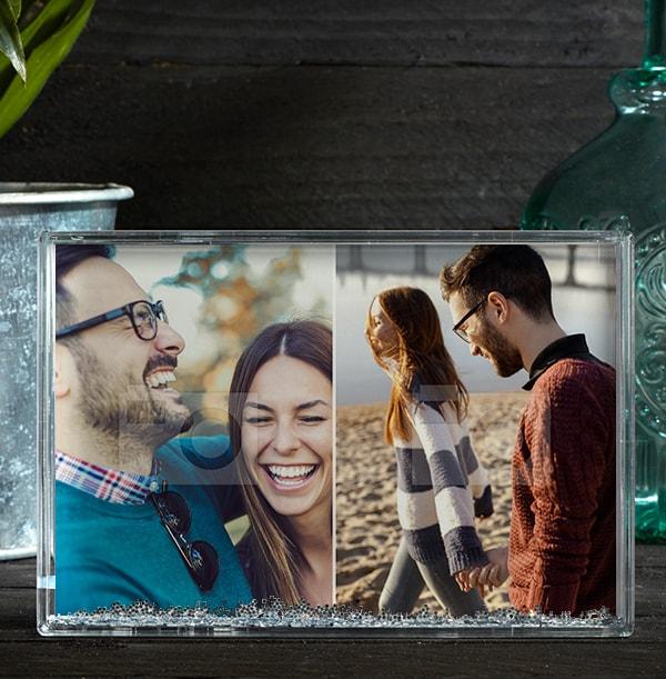 2 Photo Acrylic Block