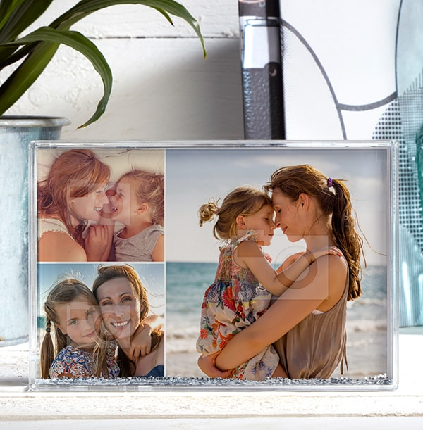 3 Photo Acrylic Block