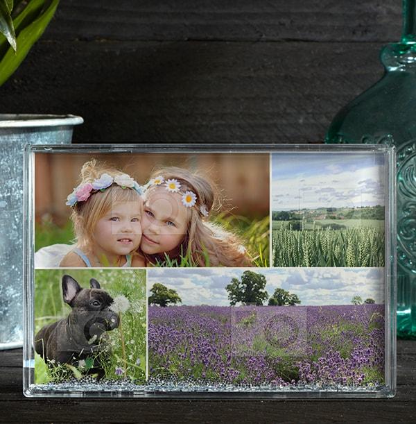 4 Photo Acrylic Block