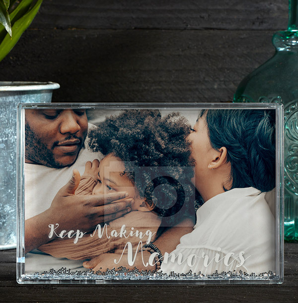 Family Love Acrylic Photo Block