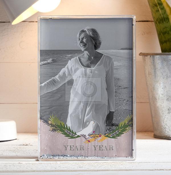 Memorial for Her Acrylic Full Photo Block - Portrait