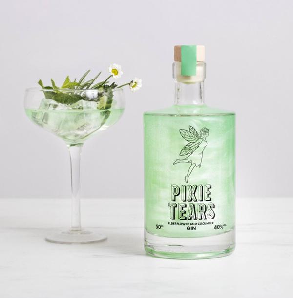 Pixie Tears Gin Bottle