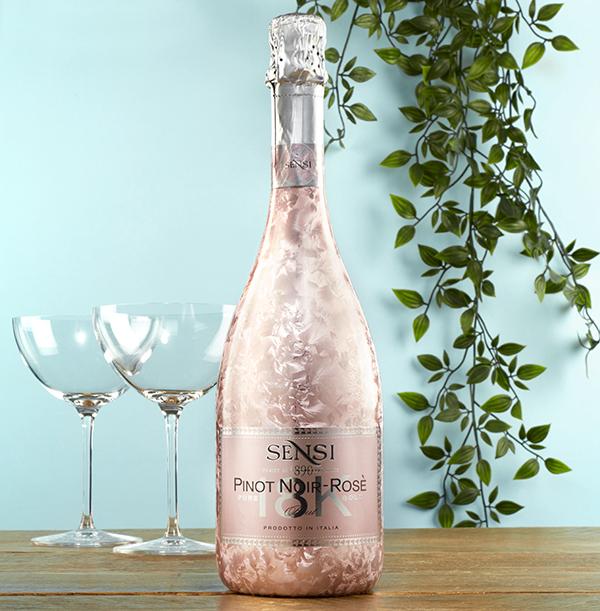 Sensi Rosé Prosecco 18k Bottle