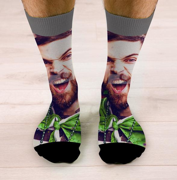 Full Photo Upload Face Socks