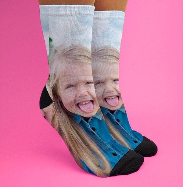 Mothers Day Full Photo Socks