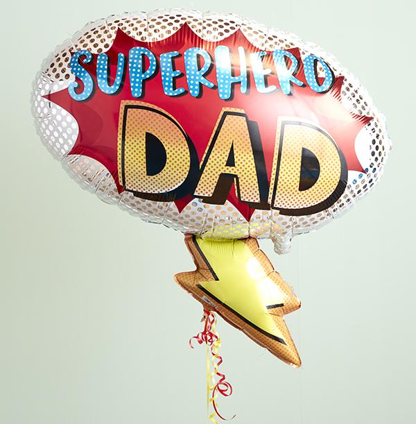 SuperHero Dad Balloon