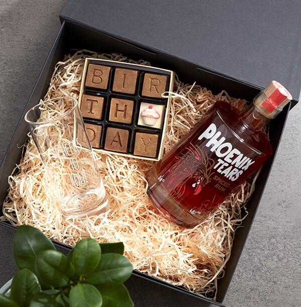 The Happy Birthday Rum Box