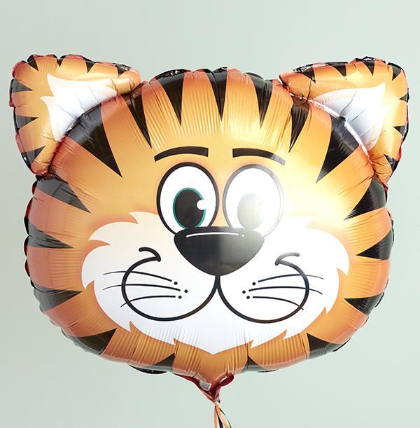 Tiger Head Balloon