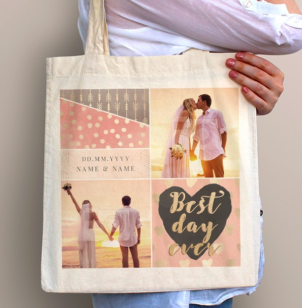 Best Day Ever Photo Tote Bag