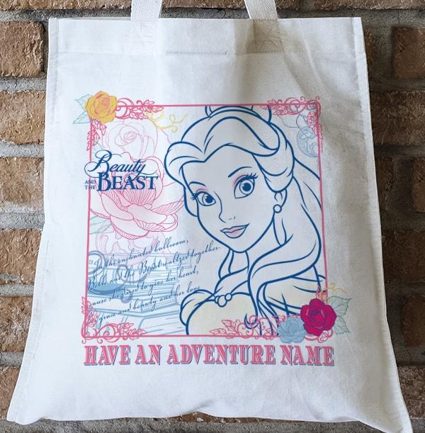 Beauty & the Beast Belle Personalised Tote Bag