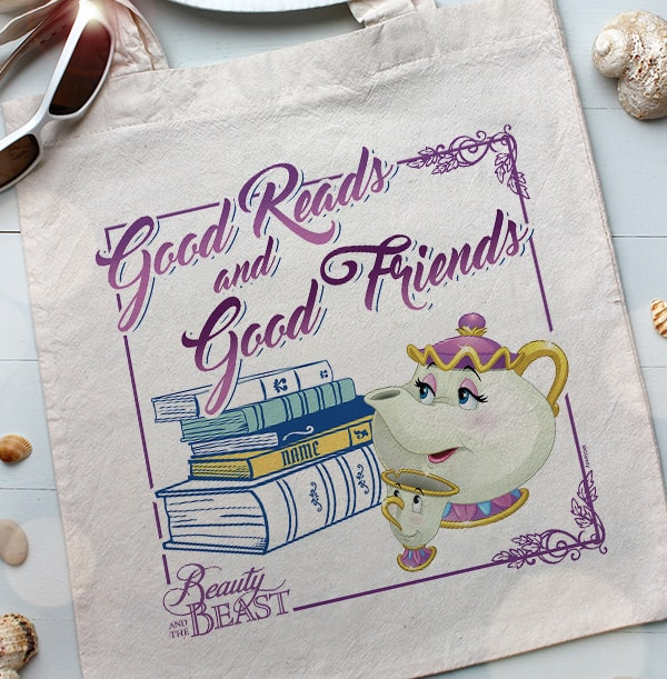 Chip & Mrs Potts Personalised Tote Bag