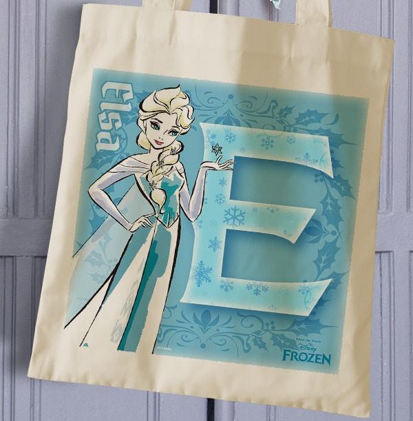 Elsa Personalised Tote Bag - Disney Frozen