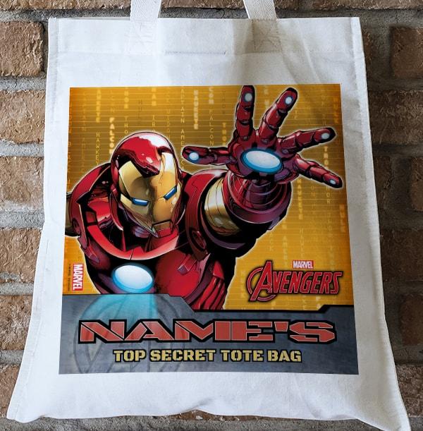 Iron Man Tote Bag - Marvel Avengers