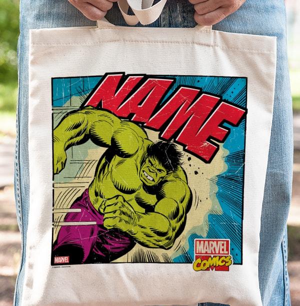 The Hulk Tote Bag - Marvel Comics