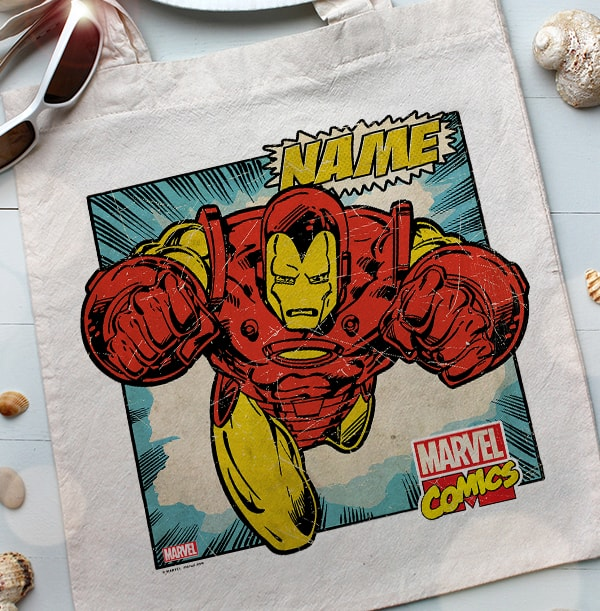 Iron Man Tote Bag - Marvel Comics