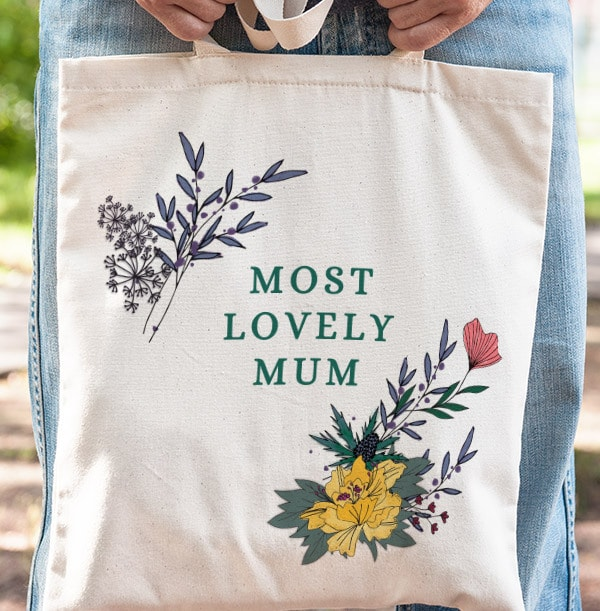 Most Lovely Mum Tote Bag