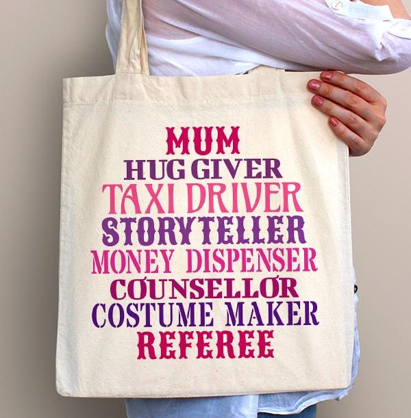 My Mum, My Hero Tote Bag