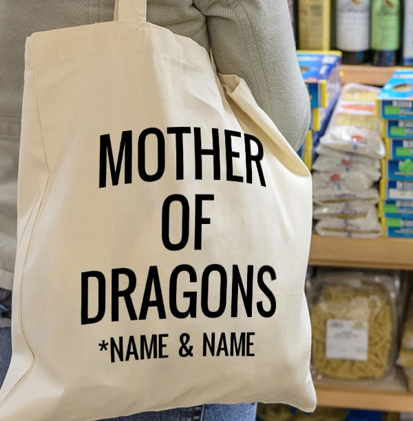 Mother of Dragons Personalised Tote Bag