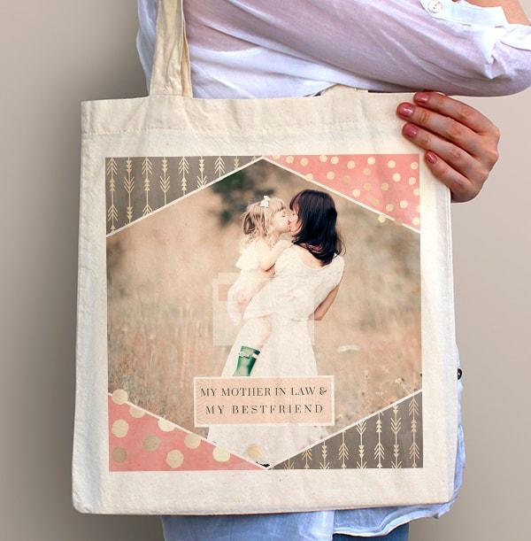 Mummy & Best Friend Photo Tote Bag