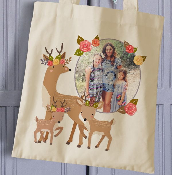 Little & Brave Family Photo Tote Bag