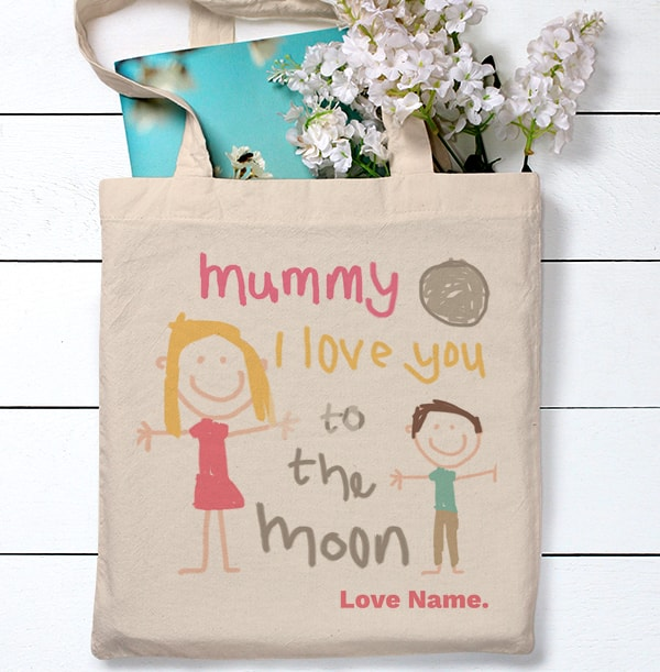 Little Masterpiece Personalised Tote Bag