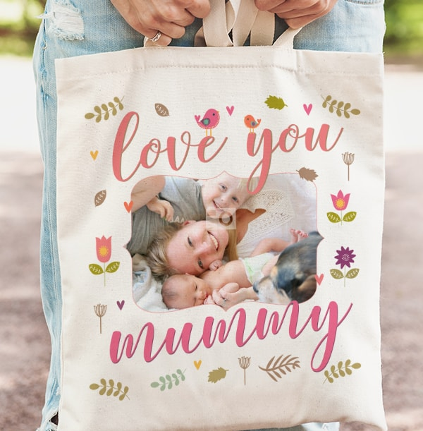 Love You Mummy Photo Tote Bag