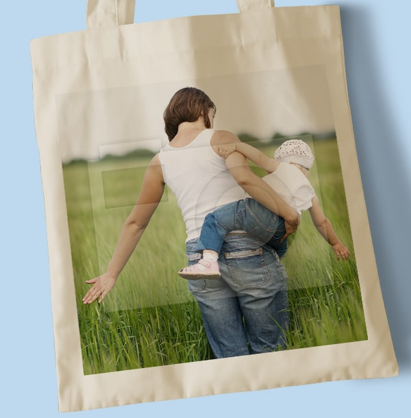 Mum Full Photo Tote Bag