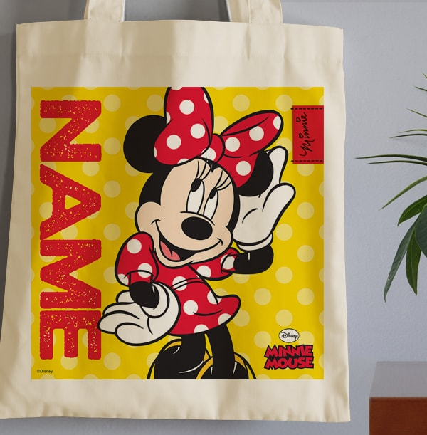 Minnie Mouse Posing Tote Bag