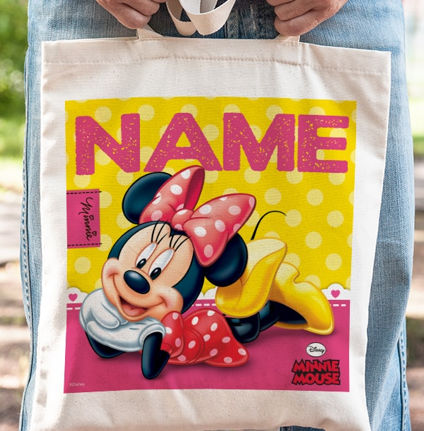 Fabulous Minnie Mouse Tote Bag