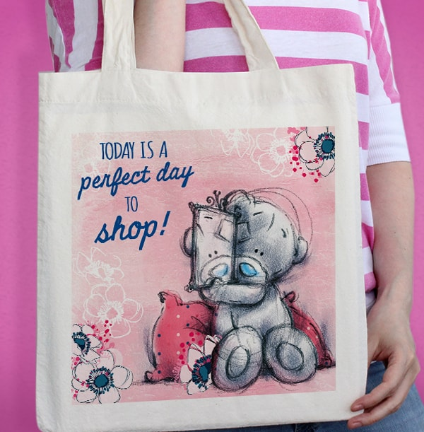 Perfect Day to Shop Tote Bag - Me to You
