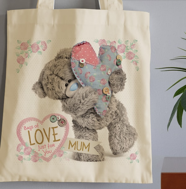 Love and Buttons Tote Bag for Mum - Me To You