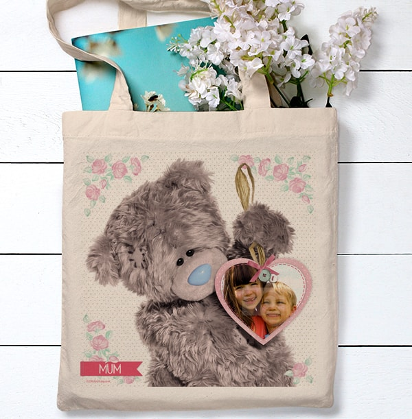 Heart Photo Tote Bag for Mum - Me To You