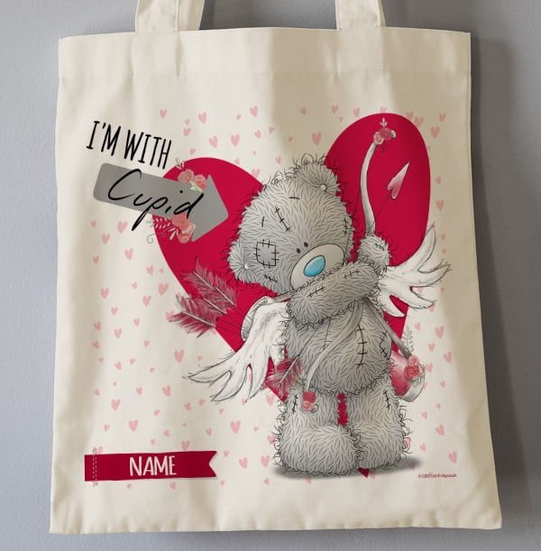 Cupid Personalised Tote Bag - Me To You
