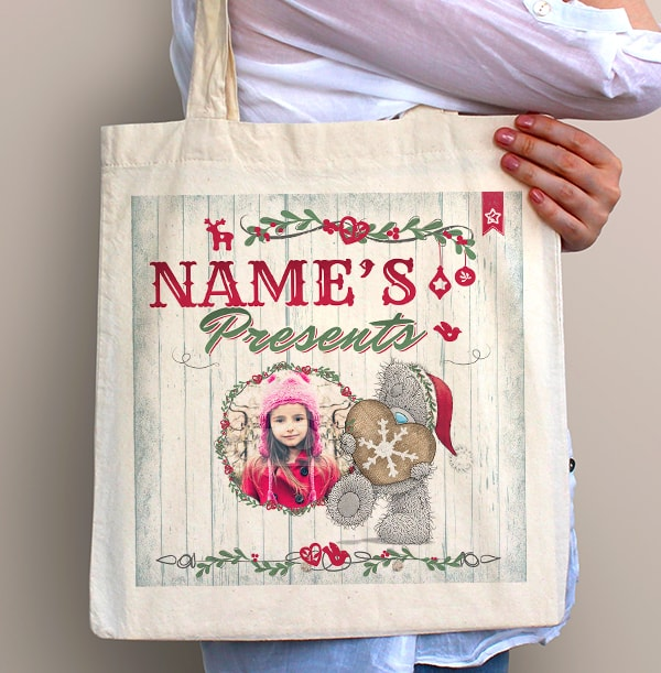 Me To You Personalised Tote Bags - Christmas Presents