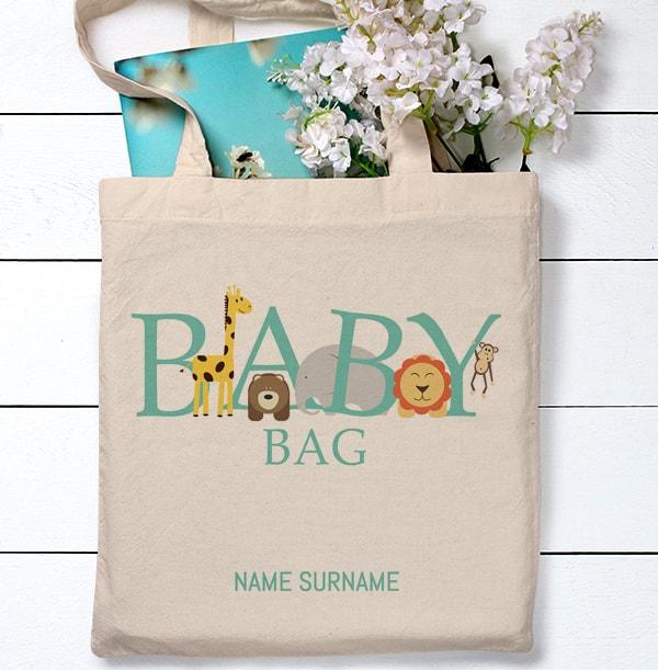 Animal Magic Personalised Tote Bag