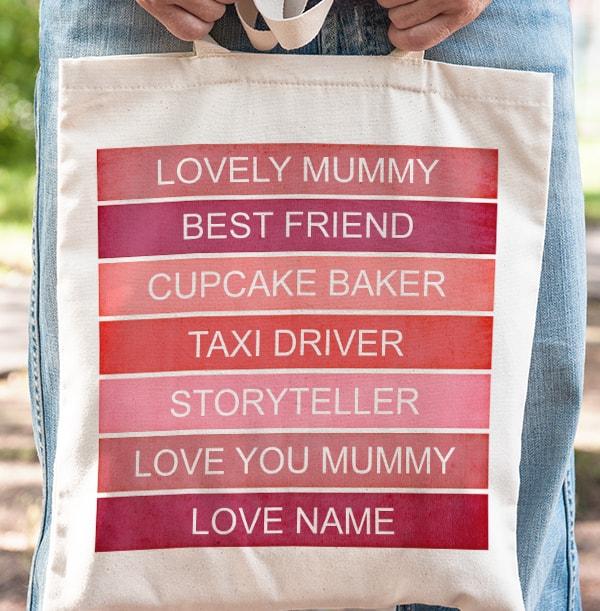 Mummy's Favourites List Tote Bag